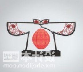 Chinese Lamp Shirt Shaped Furniture