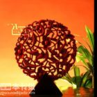 Carving Sphere Decoration Ware