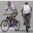 Подросток на велосипеде