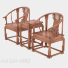 Wooden Table Chair Chinese Traditional Furniture