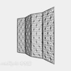 Steel Screen Partition Chinese Furniture