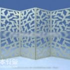 Screen Partition Carved Style Chinese Furniture