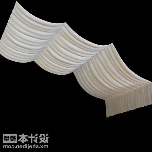 Roof Curtain Realistic Style