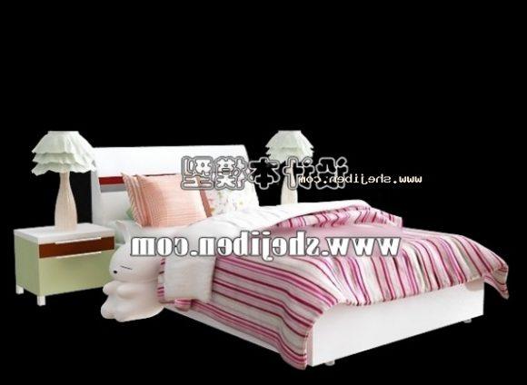 Children Girl Single Bed Furniture