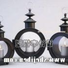 Candle Holder Round Vase