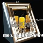Candle Holder Frame Style
