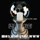 Candle Holder Glass Sphere