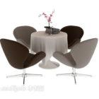Eleganckie Meble Stołowe I Krzesła