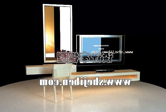 Tv Cabinet Desk With Television
