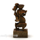 Ancient Abstract Sculpture
