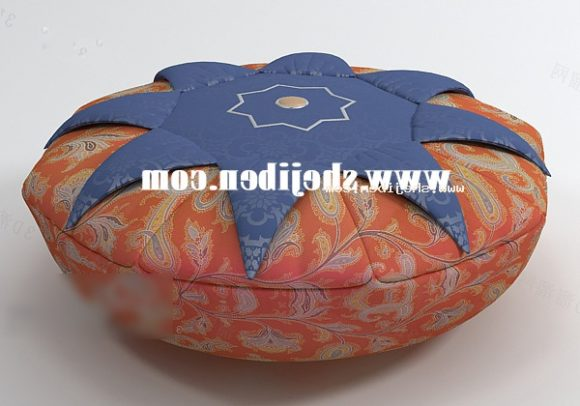 Vintage Pillow Round Shaped