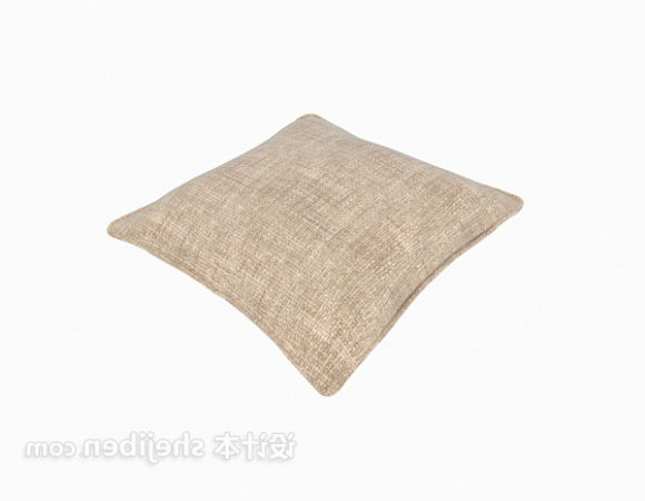 Brown Fabric Pillow