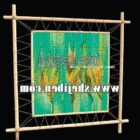 Wall Oil Painting Bamboo Frame