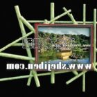 Modernism Wall Painting Bamboo Frame