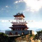 Starożytna pagoda chiński klasyczny budynek