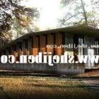 森の家の近代的な建物