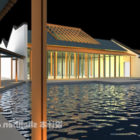 Tradycyjny chiński budynek kamienicy