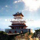 Tradycyjna pagoda Starożytny chiński budynek