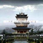 Starożytna chińska pagoda V1