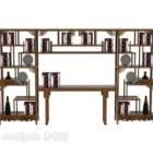 Modernes Bücherregal aus Holz