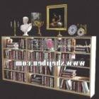 Bücherregal Schrank mit Buch