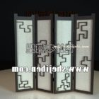 Vintage Screen Partition Chinese Style
