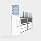 Water Dispenser With Cabinet Furniture