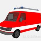 Lowpoly Fire Truck