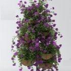 Flower Rack Decoration