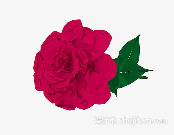 Rose Lowpoly