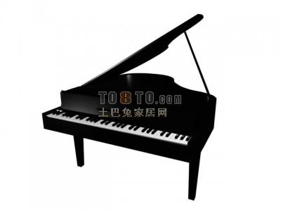 Piano Black Classic Style