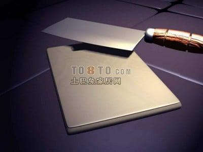 Kitchen Knife Cutting Board V3