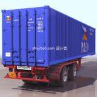 Containerbox mit Rädern