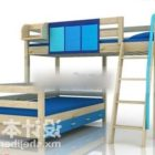 Dormitory Student Bunk Bed