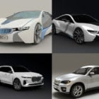 BMW Car 3D Models Collection