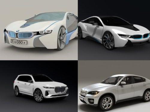 BMW-autojen 3D-mallisto