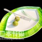 Buffet Plate With Fork