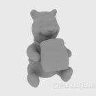 Cartoon Vinnie Bear Toy
