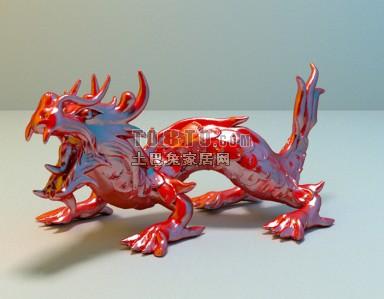 Ceramic Chinese Dragon