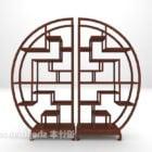 Chinesisches traditionelles rundes Bogu-Gestell