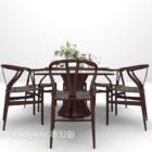 Kiinan pyöreä ruokapöytä