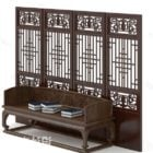 Chinese Style Daybed