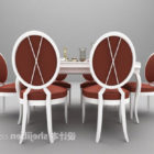 Klassinen ruokapöytä ja tuoli