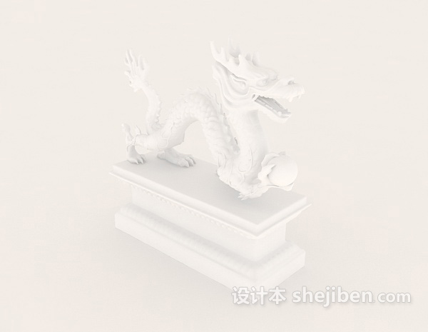 Dragon Carving Chinese Style