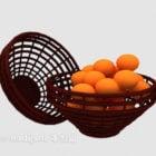Persimmon fruktkorg