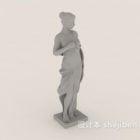 Statua della scultura greca delle donne europee