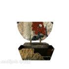 Kinesisk Feng Shui-skulptur