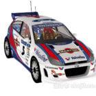 Ford Focus Wrc racerbil