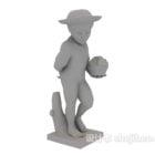 Junge Statue Skulptur