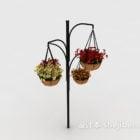 Flower On Hanging Basket